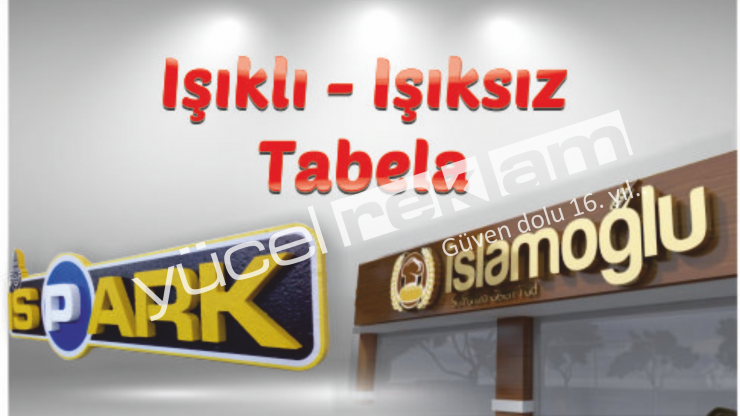 Ankara Tabela Üretim ve Montaj